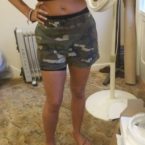 Forever 21 // Army Shorts